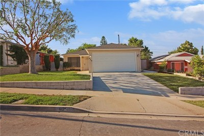 Brea Single Family Home For Sale: 626 Willow Drive