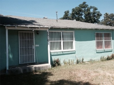 Fresno Single Family Home For Sale: 2510 S Kirk Street