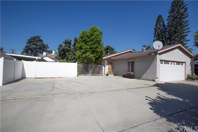 El Monte Single Family Home For Sale: 11449 Basye Street
