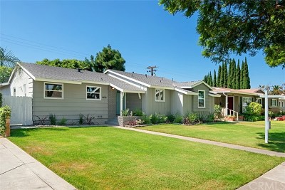 Santa Ana Single Family Home For Sale: 1022 W 18th Street