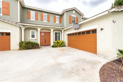 Eastvale Single Family Home For Sale: 7938 Orchid Drive