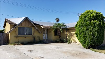 Huntington Beach Single Family Home For Sale: 5432 Sisson Drive