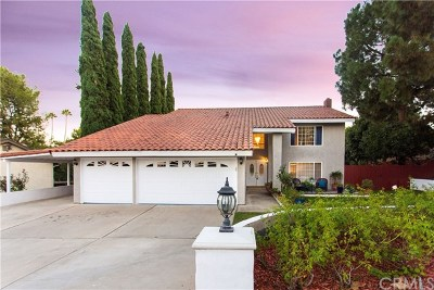 Yorba Linda Single Family Home For Sale: 17440 Rockrose Circle