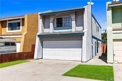 Long Beach Single Family Home For Sale: 229 E 51st Street