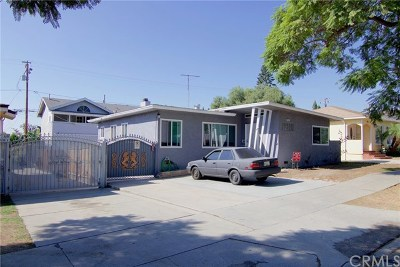 Long Beach Multi Family Home For Sale: 1737 Gladys Avenue