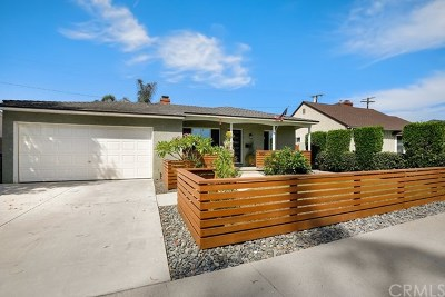 Long Beach Single Family Home For Sale: 5621 E Monlaco Road