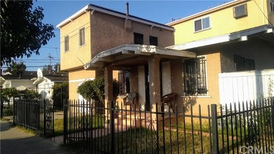 Long Beach Single Family Home For Sale: 1015 Junipero Avenue