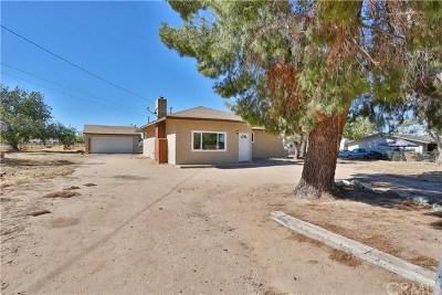 Hesperia CA Single Family Home For Sale: $279,000