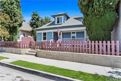 Whittier Single Family Home For Sale: 7252 Bright Avenue