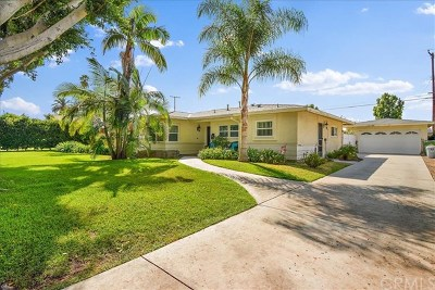 Whittier Single Family Home For Sale: 16246 Pasada Drive