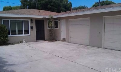 Anaheim Single Family Home For Sale: 1235 W Pearl Street