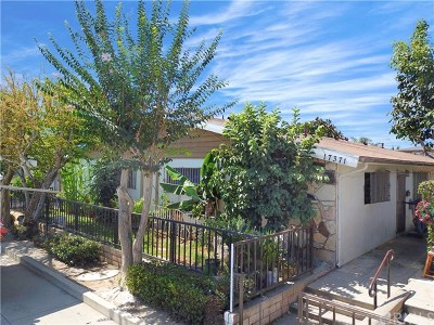 Huntington Beach Multi Family Home For Sale: 17371 Queens Lane