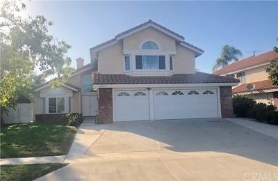 Corona Single Family Home For Sale: 2420 Heritage Drive