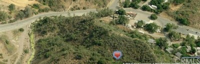 Modjeska Canyon, Silverado Canyon Residential Lots & Land For Sale: Unimproved Vacant Land