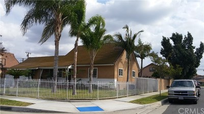 West Covina Single Family Home For Sale: 520 E Florence Avenue