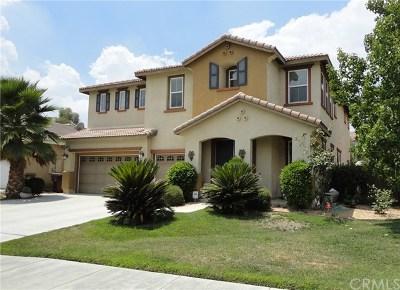 Menifee Single Family Home For Sale: 30257 Lamplighter Lane