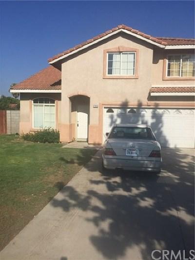 Fontana Single Family Home For Sale: 17935 Dianthus Avenue