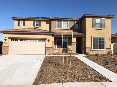 Perris Single Family Home For Sale: 1100 Madera