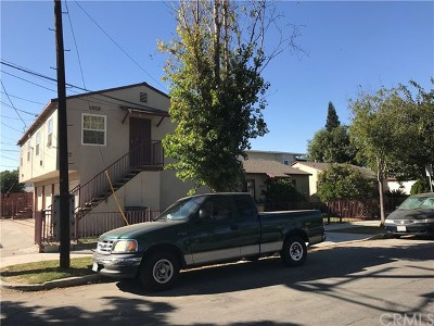 Long Beach Multi Family Home For Sale: 1927 Caspian Avenue