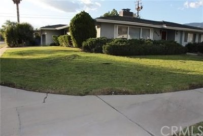 San Bernardino Single Family Home For Sale: 3876 Valencia Avenue