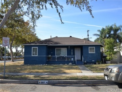 Upland Single Family Home For Sale: 807 N 10th Avenue