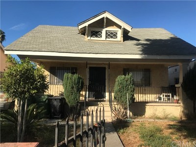 Los Angeles Single Family Home For Sale: 641 E 91st Street