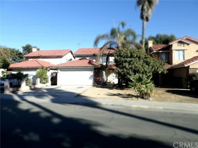 Moreno Valley Single Family Home For Sale: 13028 Oak Dell Street