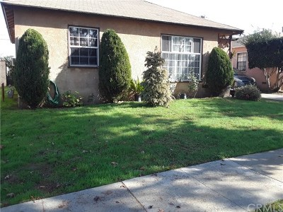 Compton Single Family Home For Sale: 1412 S Pearl Avenue