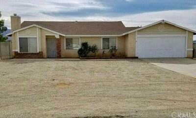 Apple Valley Single Family Home For Sale: 20729 Otowi Road