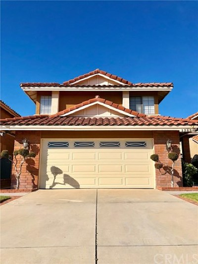 Chino Hills Single Family Home For Sale: 17636 Dandelion Lane