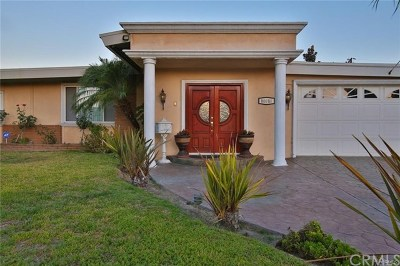 Downey Single Family Home For Sale: 10010 Mattock Avenue