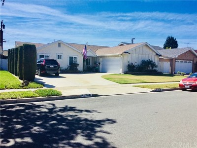Fountain Valley Single Family Home For Sale: 10448 Nightingale Avenue