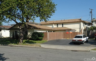 Costa Mesa Multi Family Home For Sale: 740 Shalimar Drive