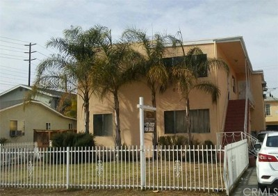 Maywood Multi Family Home For Sale: 6149 Palm Avenue