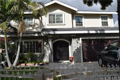 Downey CA Single Family Home For Sale: $925,000