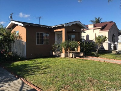Huntington Park Single Family Home For Sale: 2742 Olive Street