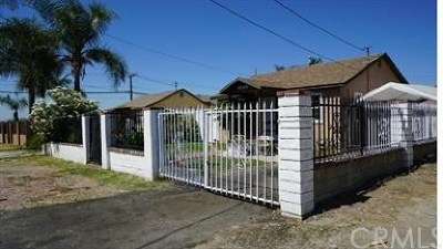 Fontana Single Family Home For Sale: 8068 Grace Avenue