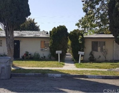 Lynwood Multi Family Home For Sale: 11219 Pope Avenue