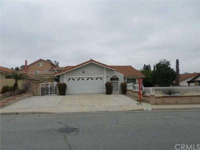 Walnut Single Family Home For Sale: 638 Tuolumne Drive