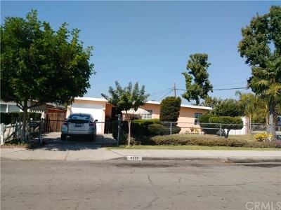 Whittier Single Family Home For Sale: 8903 Bluford Ave