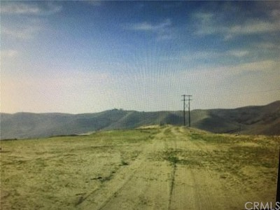 Bakersfield Residential Lots & Land For Sale: No Site Addrs