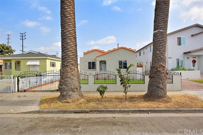 Los Angeles Multi Family Home For Sale: 850 E 88th Street