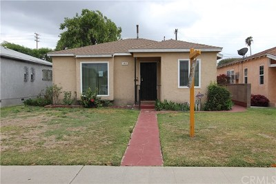 Los Angeles Single Family Home For Sale: 142 E 91st Street