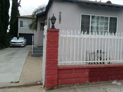 Van Nuys Multi Family Home For Sale: 7235 Kester Avenue