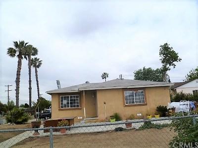 Fontana Single Family Home For Sale: 8970 Williams Road