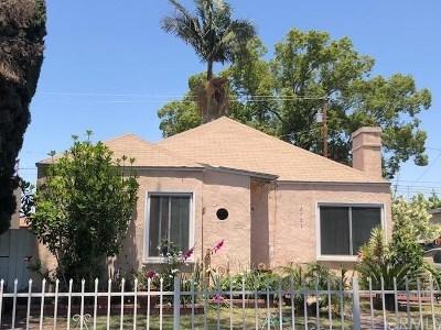Carson Multi Family Home For Sale: 2705 E Jefferson Street