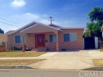 Norwalk Single Family Home For Sale: 11932 Abingdon Street