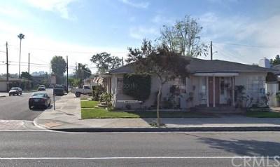 La Habra Single Family Home For Sale: 300 W La Habra Boulevard