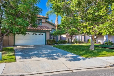 Murrieta Single Family Home For Sale: 40022 Ravenwood Drive