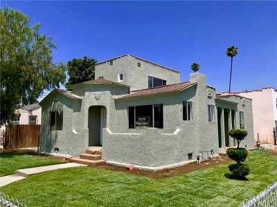 Lynwood Single Family Home For Sale: 11616 Olive Street